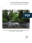 Tillamook River Watershed Salmon Lifestage Limiting Factor and Restoration Plan