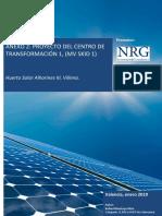 Anexo Proyecto del centro de transformación 1 (MV SKID 1)