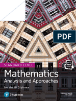 (FREE PDF link in description) Edexcel Pearson Mathematics for the IB Diploma - Analysis and Approaches SL