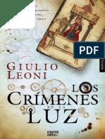 Los crimenes de la luz - Giulio Leoni