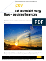 Loopflows and unscheduled energy flows – explaining the mystery – EURACTIV.com