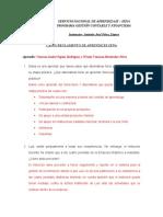 REGLAMENTO DE APRENDICES (TALLER)