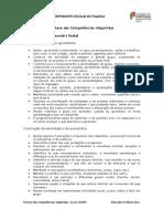 sintese competencias adquiridas- novas OCDEP 2018