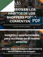 Cambios en Los Shopper consecuencia de Covid19
