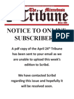 Scribd Message