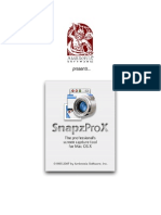 Snapz Pro X 2.1 Manual