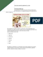 PATOLOGIAS ARTICULARES DE LA ATM