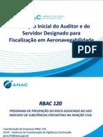 RBAC 120 - Uso indevido de Psicoativos