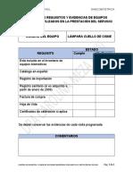 18.- Control de requisitos y evidencias de equipos biomedicos  Lampara cuello de cisne..pdf