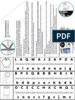 Alphabet Hole Puching