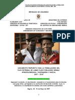 DOCUMENTO  FINAL PLAN INTEGRAL DE LARGO PLAZO 2006_2019