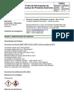 FISPQ - Biozyme Bio 113 LA Limpador Perfumado Lavanda.pdf