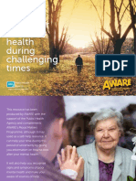 AWARE Guide to Looking After Your Mental Health During Covid19