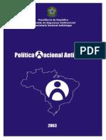 BRASIL 2001 Política Nacional Antidrogas