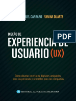 Diseño de experiencia de usuario (UX) - Juan Manuel Carraro
