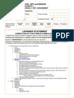 615-learner-statements exam