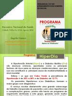 AngelagomesAp.  HiperDia C. Velha