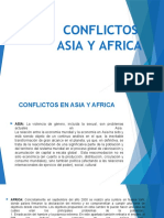 diapositiva  Osmeller conflictos asia y africa