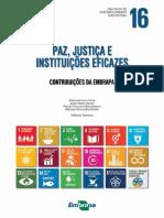 ODS16 contribuição da EMPRAPA