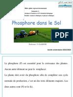 Cours Phosphore Dans Le Sols Pptx