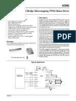 A3992SBT_Datasheet