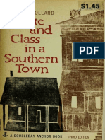 Caste And Class In A Southern Town By John Dollard.pdf
