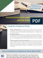 Pengukuran Kinerja dan Analisis Sektor Publik Kelompok 6.pptx