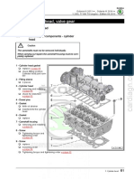 CJZC engine Cylinder head