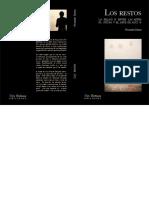 Los-restos-f.baena_ La relación entre las artes plásticas y el arte de acción