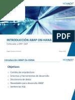 Introducción ABAP On- Hana - Práctica SAP