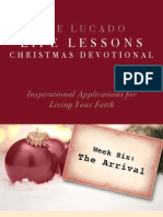 Lucado Life Lessons Christmas Devotional - Week 6
