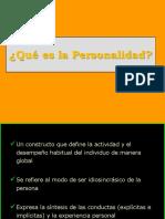 1. Bloque - Personalidad
