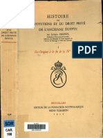 Pirenne, Jacques - Histoire des institutions et du droit privé de l'ancienne Égypte I (1932) LR.pdf