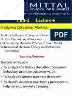 L6a Analyzing Consumer Markets