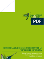 10. Expresión, alcance y reconocimiento de la profesión de enfermería - Angela Espinosa
