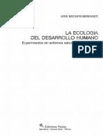 Bronfenbrenner Urie - La Ecologia Del Desarrollo Humano