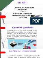 PRESNTACION NTC 3971 SUSTANCIAS CORROSIVAS