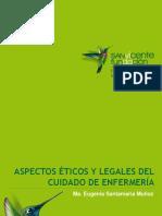 11. Aspectos éticos y legales del cuidado de enfermería - Ma. Eugenia Santamaría