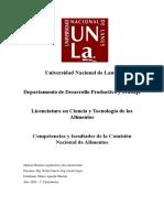 Competencias y facultades de la CONAL