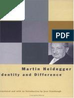 Heidegger- Identity and Difference