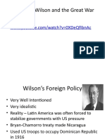 Woodrow Wilson and the Great War-2.pptx
