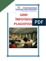 ANMB Ghid împotriva plagiatului