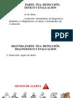1.Deteccion   Señales de alerta. TEA