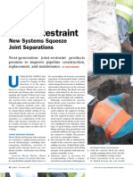 Integral PVC Pipe Joint Restraint