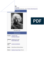Historia Albert Einstein