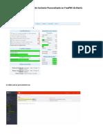 Configuración de Contexto Personalizado en FreePBX de Elastix