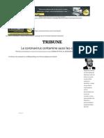 Le coronavirus contamine aussi les contrats! _ L'Economiste.pdf
