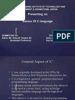 Basics of C1