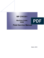 MP CW2201 Field Service Manual