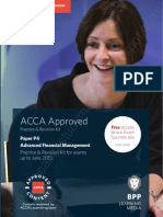 2015 ACCA P4 AFM Revision Kit BPP